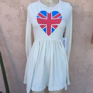 WILDFOX SZ SMALL DRESS HEART NEW WITH TAGS