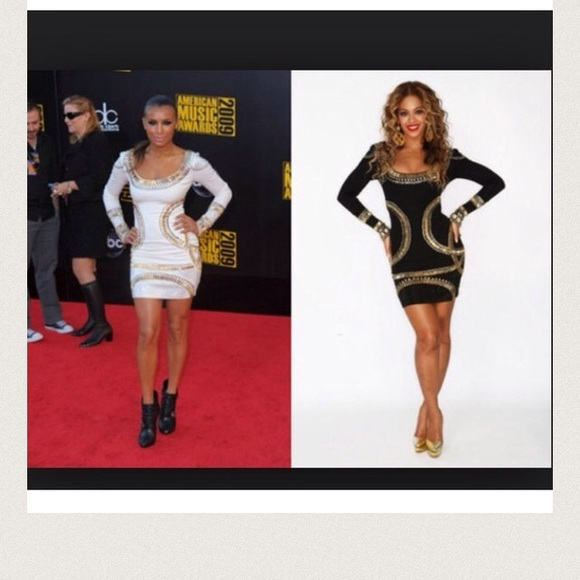 708a51717 Dresses | Nwt Kim K Black Gold Bodycon | Poshmark