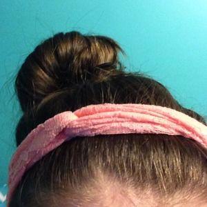 Pink Lacey headband