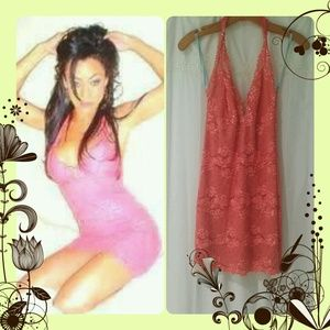 Hot Pink Marciano Dress
