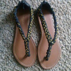 Love Culture Shoes - Love Culture brown an black Sandals