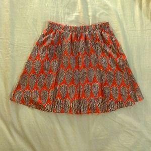 Maison Jules Print Skirt