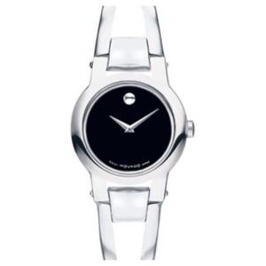 Movado Amorosa Stainless Steel Bangle Watch