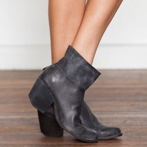 Jeffrey Campbell leather Roswell boots Free People