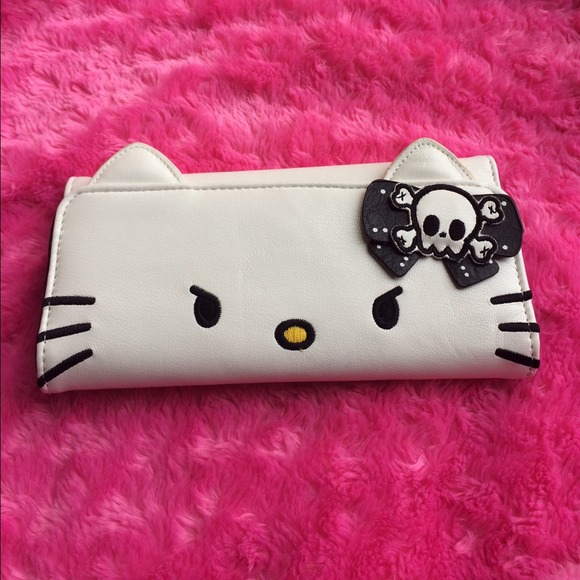 176dd6f4c64c Hello Kitty Clutches   Wallets - Hello Kitty Angry Face Wallet by Loungefly