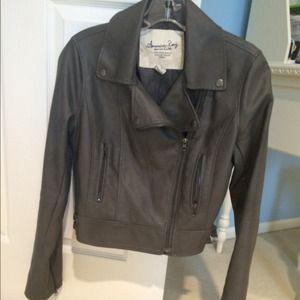 7bab04606e6 American Rag Jackets   Coats - American Rag leather jacket
