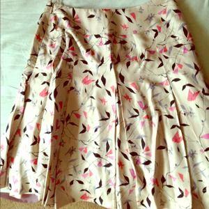 Dresses & Skirts - 100% silk skirt with silk jacket.