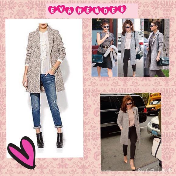 d719bdfb9d8 Eva Mendes for New York   Company Jackets   Coats