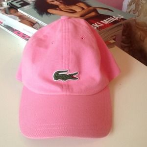 Lacoste Accessories - Lacoste Pink Cap a18ea8aaad6