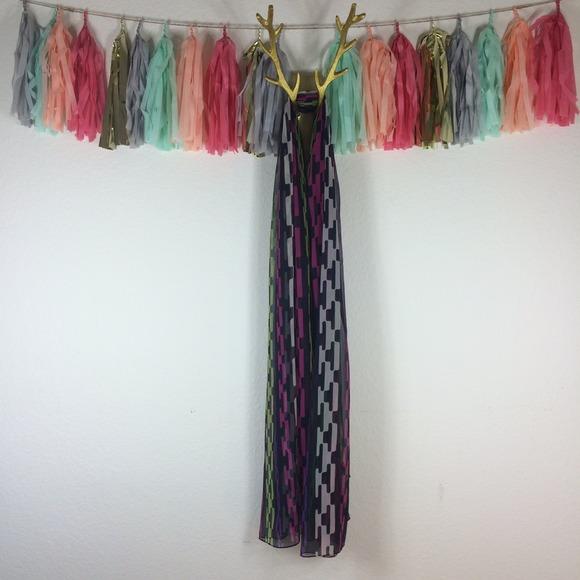 cynthia rowley cynthia rowley chain link scarf from