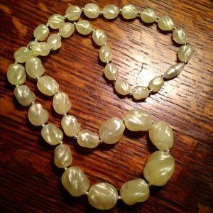 Jewelry - Yellow Beaded Necklace