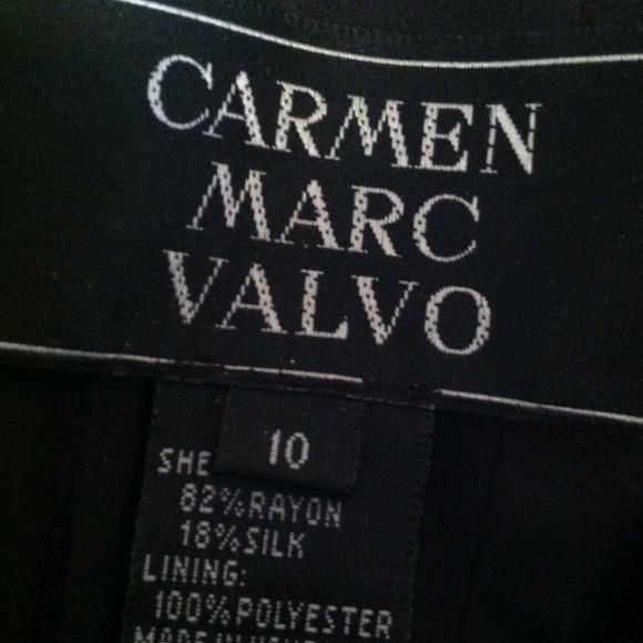 vintage carmen marc valvo