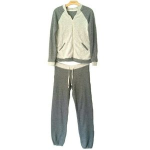 Sundry Gray Soft Sweatsuit Set Small/Medium