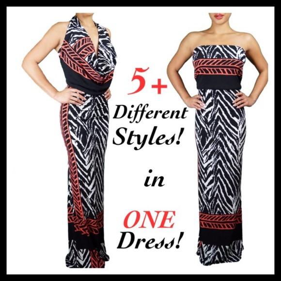 Boutique Dresses | 5 Different Styles In One Dress | Poshmark