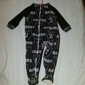 Brand new Childrens Raiders pajamas