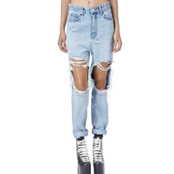 36% off UNIF Denim - Unif Black Twerk Jeans from Kaylau0026#39;s closet on Poshmark