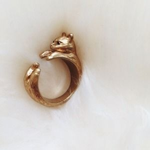 Madewell Cat ring