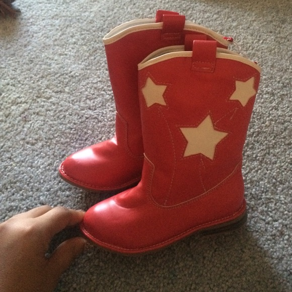 Old Navy - Toddler red cowboy boots from Gabrielle's closet on ...