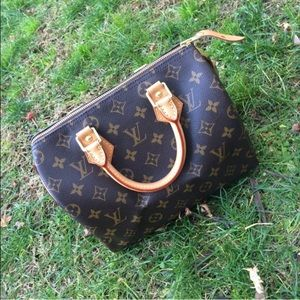 Louis Vuitton Speedy 25 Monogram Canvas Purse