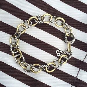 🚫SOLD David Yurman Oval Link Bracelet Medium with