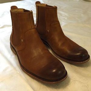 Ugg Shoes Mens Stevenson Chelsea Boot Chestnut Brown