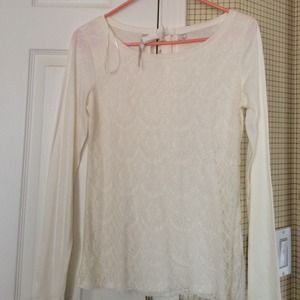 Lauren Conrad  Tops - Lauren Conrad lace top.
