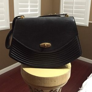 DROPPED PRICE Louis Vuitton Black Epi Shoulder Bag