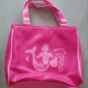 Handbags - Aquarius Zodiac Pink Bag