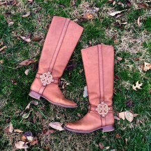 🚫SOLD Tory Burch Amanda Riding Boots - Almond B