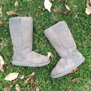 UGG Shoes - 🚫SOLD Classic Tall UGG Boots - Grey