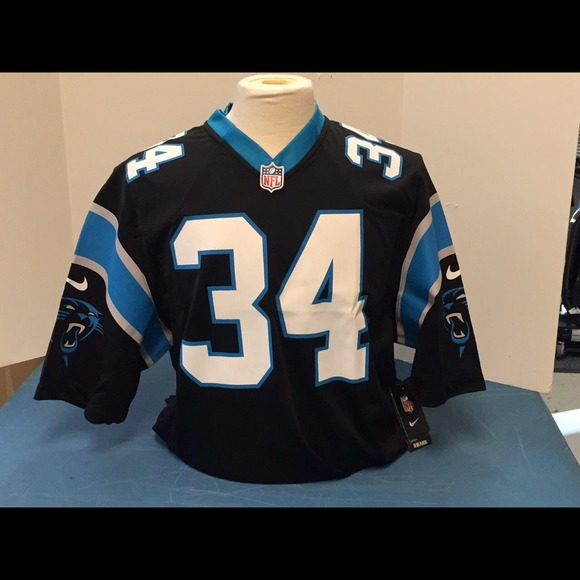 Carolina Panthers DeAngelo Williams jersey.