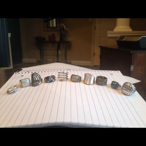 Jewelry - Lia Sophia and Park Lane Rings
