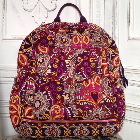 Safari Sunset Vera Bradley Backpack (Retired). M 54987305eeb16f30401aaba2 dcb91c122accf