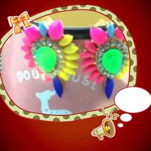Big Reduction!!!!! Gorgeous Earrings Colorful!!!!'