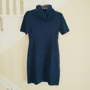 Sweaters - Teal Sweater Dress