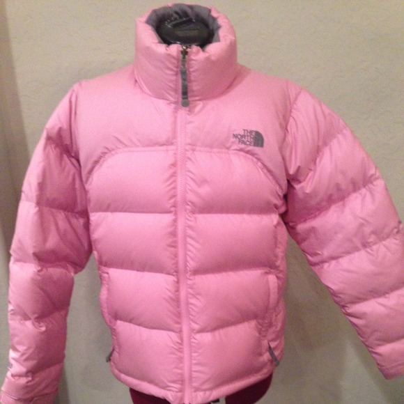 3a87414d745f Pink North Face 700 puff coat! M 54989c47912644053701c3cb