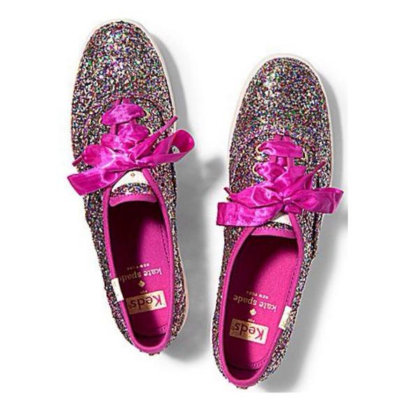 keds sparkle pink