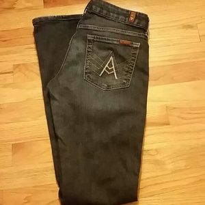 7FAM A - Pocket Crystal Jeans