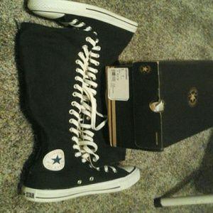 Converse xxhi tops zipper black