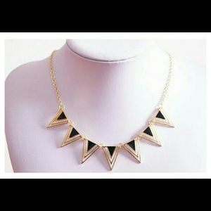 Lowest price! Triangle statement necklace