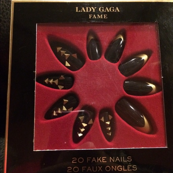 Lady Gaga Fame Fake Nailsnwt