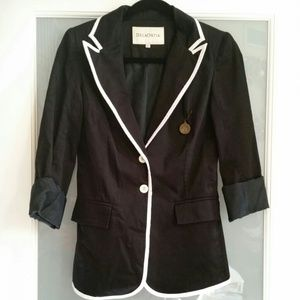 Jackets & Blazers - B & W Blazer