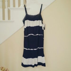 Dresses & Skirts - Navy Blue Beach Dress