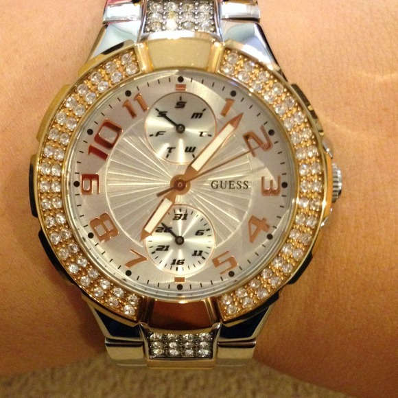 73% off Guess Accessories - GUESS WATCH. ROSE GOLD ...