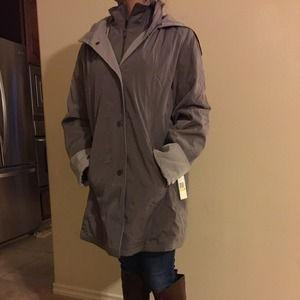 NEW Gravel / Silver smoke Nautica coat