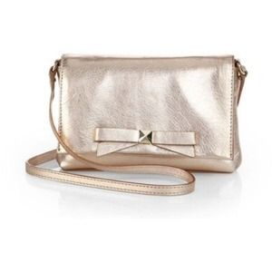 kate spade Handbags - Kate Spade Bright Light Carah Cross Body Metallic