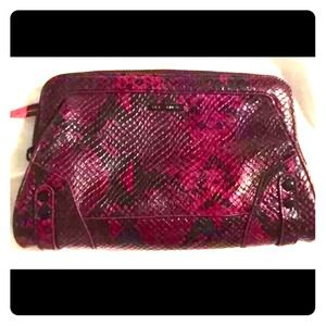 Rebecca Minkoff Mason Clutch New black and purple