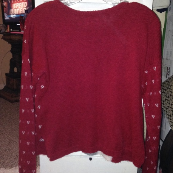 Strange 38 Off Hollister Sweaters Hollister Christmas Sweater From Easy Diy Christmas Decorations Tissureus