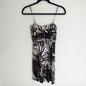 (REDUCED) Cache Multicolored Strapless Dress