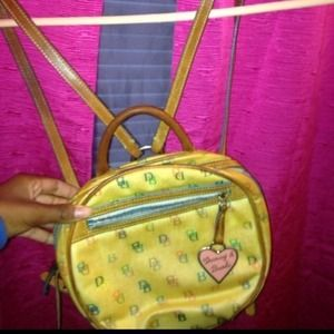Dooney & Bourke Backpack/purse
